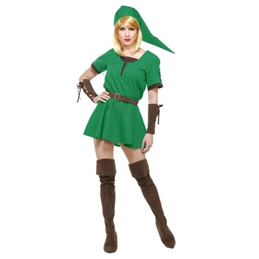 Warrior Elf Adult Princess Costume