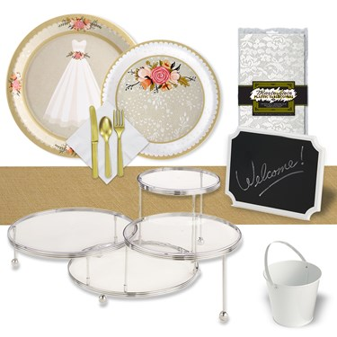 Wedding Gown 32 Guest Pack