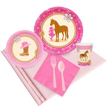 Western Cowgirl 24 Guest Party Pack