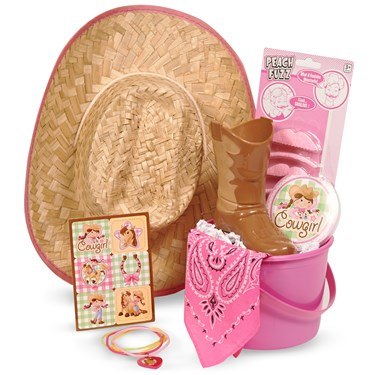 Western Girl Filled Party Favor Bucket