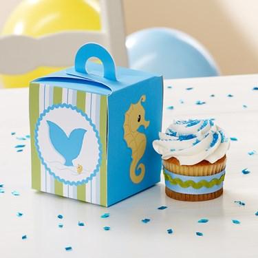 Whale of Fun Cupcake Boxes
