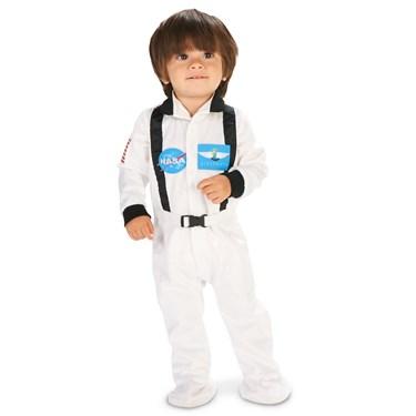 White Astronaut Infant Costume