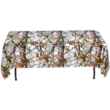White Camo Table Cover (1)