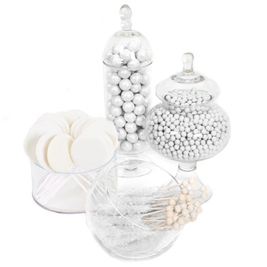 White Candy Buffet - Large