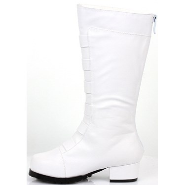 White Costume Boots For Boys