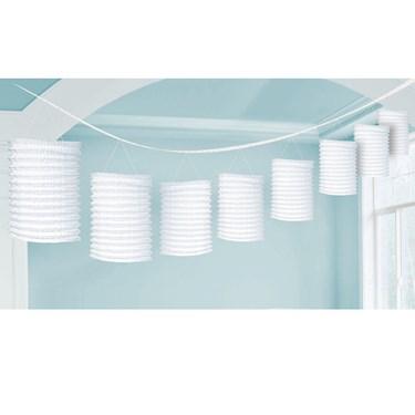 White Lantern Garland