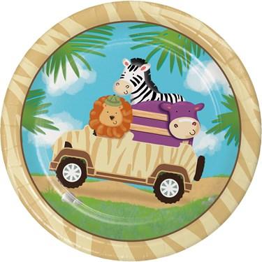 Wild Safari 7 Cake Plates (8)