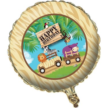 Wild Safari Foil Metallic Balloon