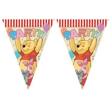 "Winnie the Pooh Alphabet 90"" Flag Banner"