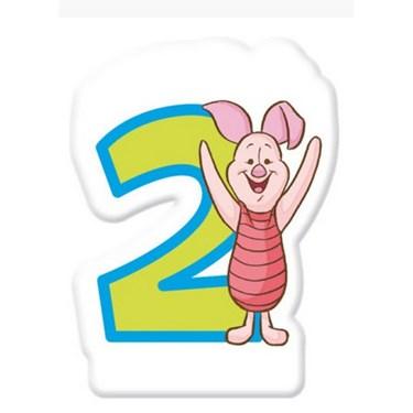Winnie the Pooh Alphabet Candle No. 2