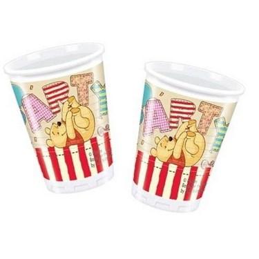Winnie the Pooh Alphabet Cups (8)