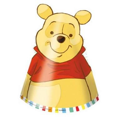 Winnie the Pooh Alphabet Die Cut Hats (6)