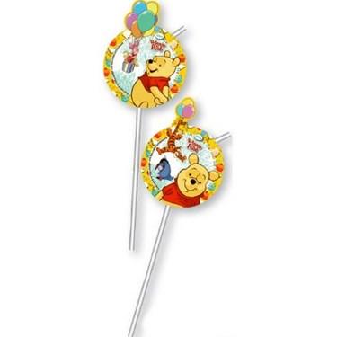 Winnie the Pooh Alphabet Drinking Straws (6)