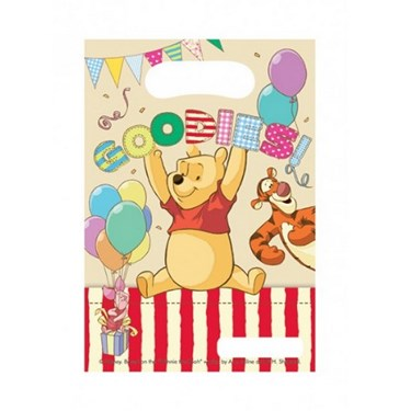 Winnie the Pooh Alphabet Party Bags (6)