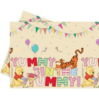 "Winnie the Pooh Alphabet Tablecover 47"" x 70"""