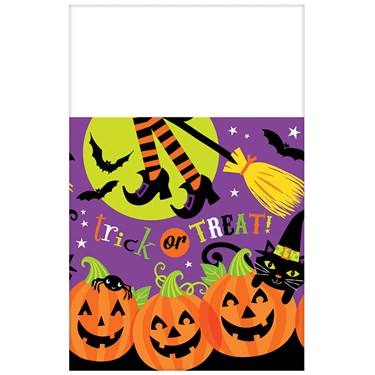 Witch's Crew Plastic Tablecover