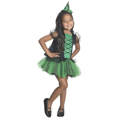 Wizard of Oz - Wicked Witch of the West Kids Tutu Costume