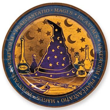 Wizard Realm Dessert Plates (8)