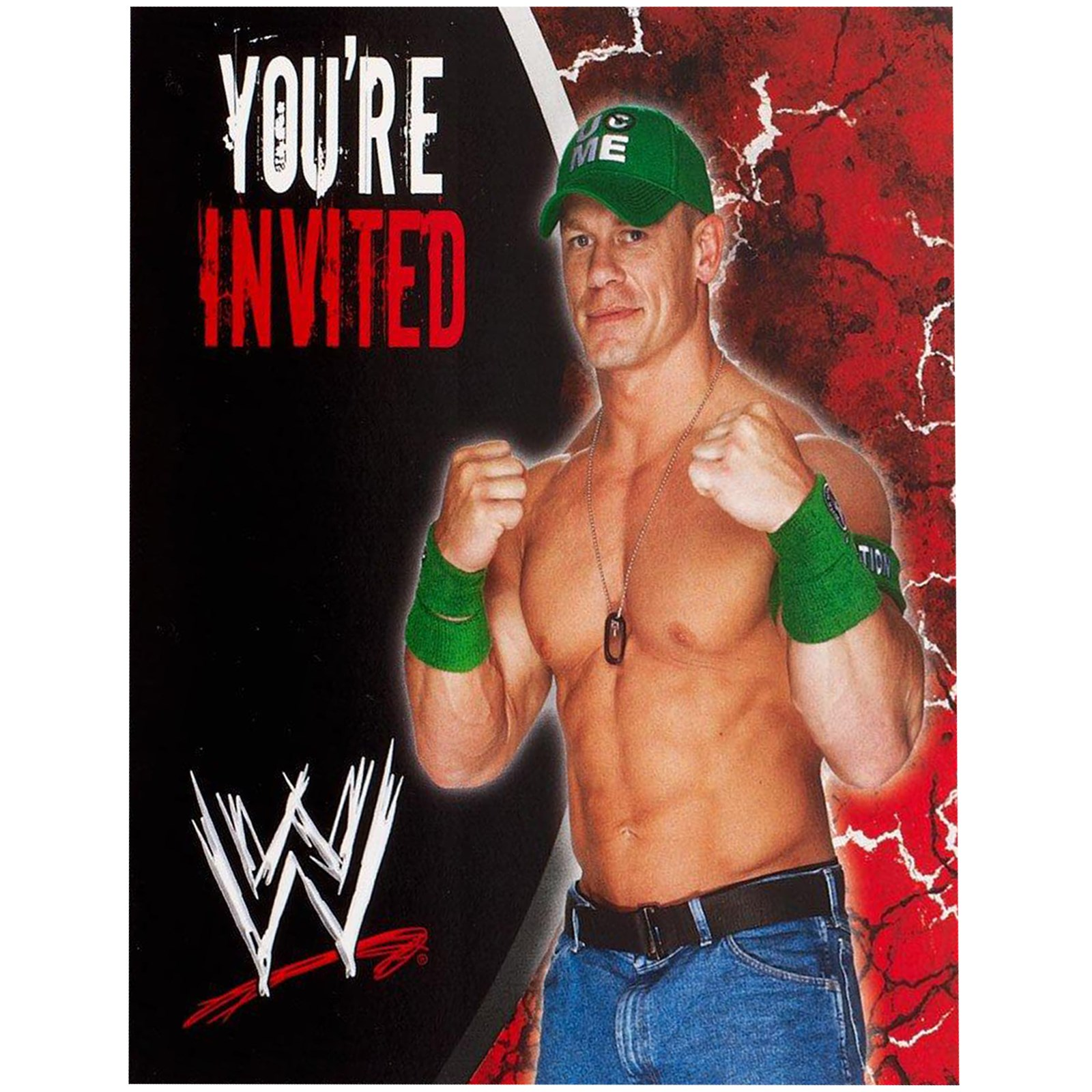 WWE Invitations – Wwe Party Invitations