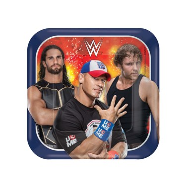 WWE Never Give Up Dessert Plates (8)