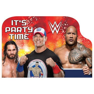 WWE Never Give Up Invitations (8)