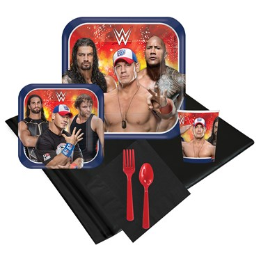 WWE Never Give Up16 Guest Party Pack