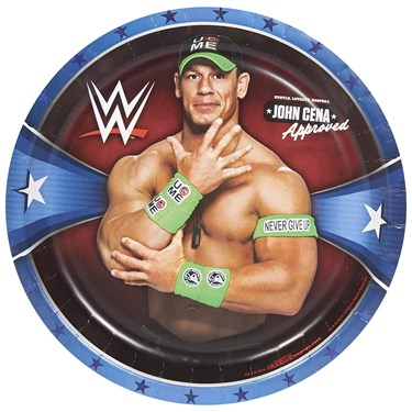 WWE Party Dinner Plates (8)