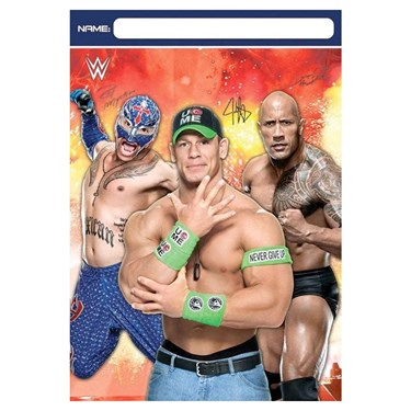 WWE Party Treat Bags(8)