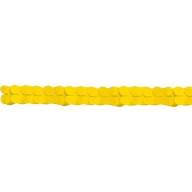 Yellow Paper Garland