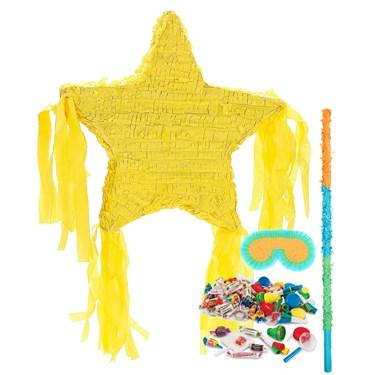 Yellow Star Pinata Kit