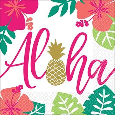 You had me at Aloha Lunch Napkins (16)