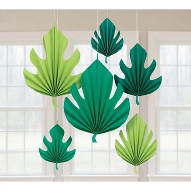 You had me at Aloha Palm Leaf Shaped Fand Decoration