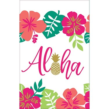 You had me at Aloha Paper Tablecover