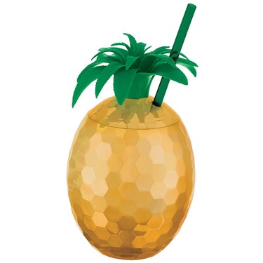 You had me at Aloha Pineapple Cup with Straw