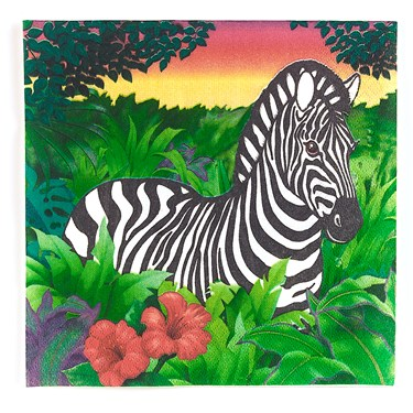 Zoology Lunch Napkins (16)